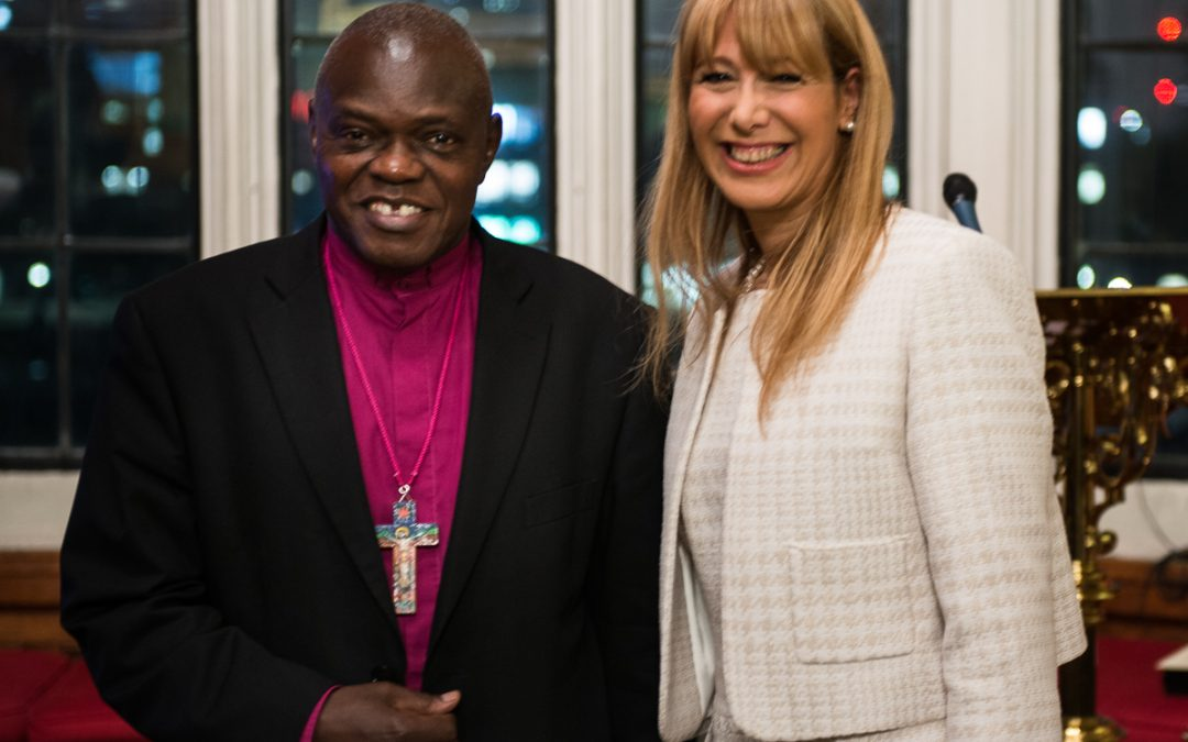 WE ARE HONOURED TO HAVE THE ARCHBISHOP OF YORK AND LORD EAMES OM AS PATRONS.