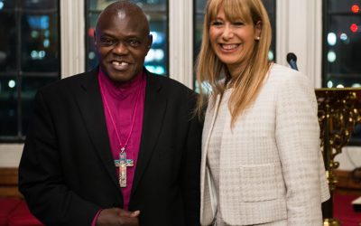 WE ARE THRILLED TO WELCOME THE ARCHBISHOP OF YORK AS A NEW PATRON FOR NSPC4PEACE.